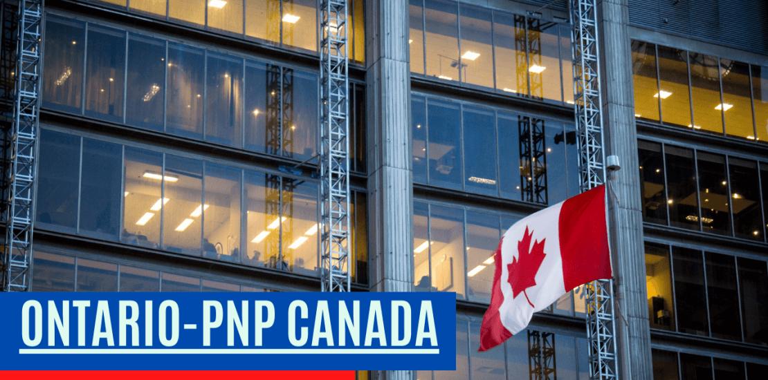 Ontario PNP Canada